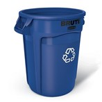 Rubbermaid®  BRUTE® 20-Gallon and 32-Gallon Recycling Containers