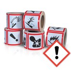 GHS Health Hazard Pictogram Label,  Irritant