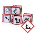 GHS Health Hazard Pictogram Label, Environmentally Damaging