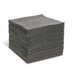 "AirLaid Heavy Weight 15"" x 19"" Universal Absorbent Mat, 100s"