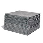 Contractor Universal Absorbent Mats, Medium Weight, 100s