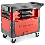 Rubbermaid® Mobile Trades Cart with Cabinet, Lockable
