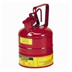 Justrite® Type I Steel Safety Can, Flammables, 1 Gallon