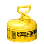 Justrite® Type I Steel Safety Cans, Diesel Fuel, 1 Gallon