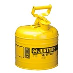 Justrite® Type I Steel Safety Cans, Diesel Fuel, 2 Gallons