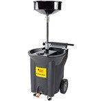 JohnDow Crew Chief Portable Poly Oil Drain, 22 Gallons