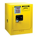 Justrite® Sure-Grip® EX Countertop Safety Cabinets, Flammables, 4 Gallon