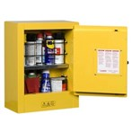 Justrite® Sure-Grip® EX Mini Safety Cabinet, Flammables, Aerosols