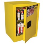 Justrite® Sure-Grip® EX Benchtop Safety Cabinet, Flammables, Aerosols
