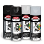 Krylon® Acryli-Quik™ Paint, Flat and Semi-Gloss