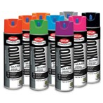 Krylon® Quik-Mark™ Fluorescent Solvent-based Inverted Marking Paint, 20 Oz.