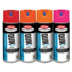 Krylon® Quik-Mark™ Fluorescent Water-based Inverted Marking Paint, 16 Oz.