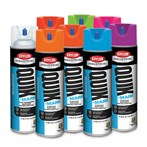 Krylon® Quik-Mark™ Fluorescent Water-based Inverted Marking Paint, 20 Oz.