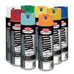 Krylon® Quik-Mark™ APWA Solvent-based Inverted Marking Paint, 20 Oz.