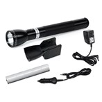 Maglite LED Rechargeable Flashlight System with 120V Converter and 12V DC Auto Adapter, RL1019