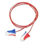 Howard Leight Max® Red, White, and Blue Earplugs