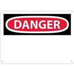 DANGER (header only) Sign