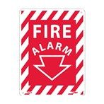 "Fire Alarm Signs, 9"" x 12"""