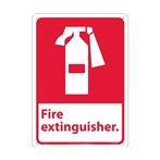 Fire Extinguisher Signs (with graphic)