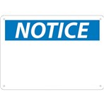 NOTICE (header only) Sign