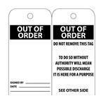 Out of Order Tags