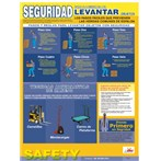 Backlifting Safety Poster, Spanish