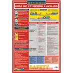 First Aid Guide Poster, Spanish