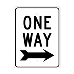 One Way (right arrow)