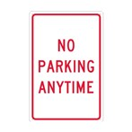 No Parking Anytime