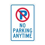 No Parking Anytime (with symbol)