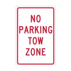 No Parking Tow Zone