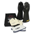 Novax Electric Safety Kit - Black Gloves,  Class 2