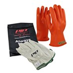 Novax Electric Safety Kit - Orange Gloves,  Class 00