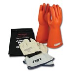 Novax Electric Safety Kit - Orange Gloves,  Class 1