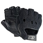 OK-1 Half-finger  Leather Lifters Gloves