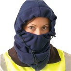 3-in-1 Fleece Balaclava Winter Liner, Navy