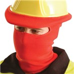 Classic Hard-Hat Full-Face Tube Liner, Red