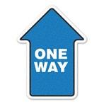 "Safety Floor Sign, Anti-slip – ""ONE WAY"""