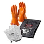 Novax Electric Safety Kit - Orange Gloves,  Class 0