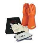 Novax Electric Safety Kit - Orange Gloves,  Class 2
