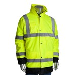 PIP® 343-1755   ANSI Type R Class 3 Value Insulated Winter Coat, Lime