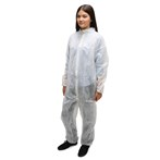 Direct Value  Polypro Disposable Coveralls, Standard