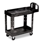 Rubbermaid® Heavy-Duty Utility Carts, Black