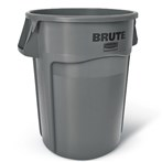 Rubbermaid®  RM2643 BRUTE® 44-Gallon Round Waste Container