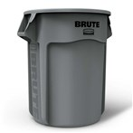 Rubbermaid® RM2655GRA BRUTE® 55-Gallon Round Waste Container