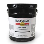 RUST-OLEUM® HIGH PERFORMANCE® 2300 System Traffic Zone Striping Paint, 5 Gal.