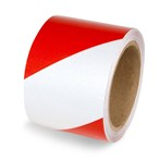 Engineer Grade Reflective Tape, Red/White Stripe