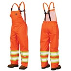 Richlu  ANSI Class E 150D Safety Rain Overall, Orange, S377