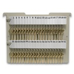 Hanging File Key Rack