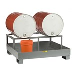 Little Giant Spill Control Platform w/Drum Rack, 2 Drum